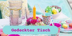 Overbeck and Friends Gedeckter Tisch