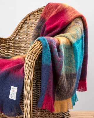 AVOCA Nest Mohair Decke Harriet (groß) Mohair Throw Harriet