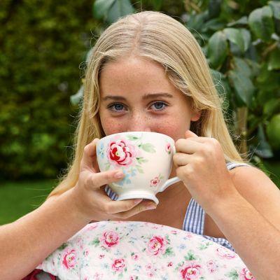 Greengate Teacup Teetasse Meryl White