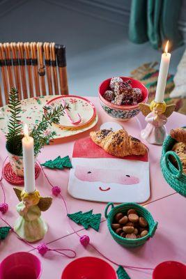RICE Melamin Dessertteller, Weihnachtsedition 2020