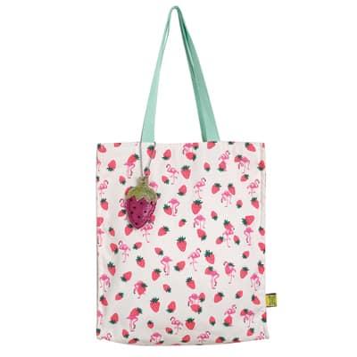 Ginger Baumwolltasche/ Shopper Erdbeeren