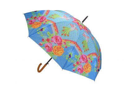 Happiness Regenschirm, blau