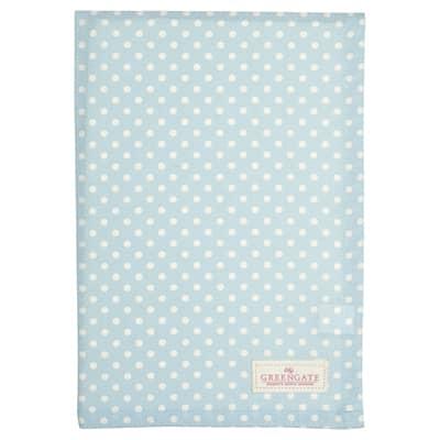 Greengate Tea Towel Geschirrtuch Spot Pale Blue