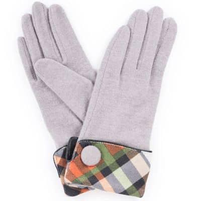 Powder Design Handschuhe Heather, Slate/Schlammfarben, One Size