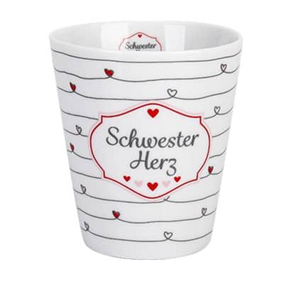 Krasilnikoff Happy Mug Schwesterherz