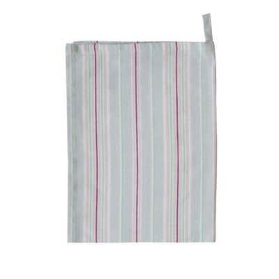 Krasilnikoff Geschirrtuch, Streifen, Multi stripes, Grau