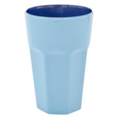 RICE Melamin Macchiato Becher, Tall Cup, Blau