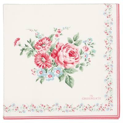 Greengate Papierservietten Marley Pale Pink Large 20Stk