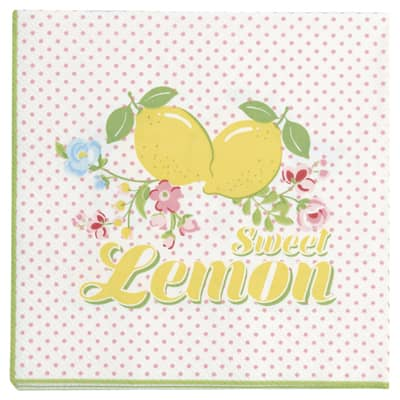 Greengate Papierservietten Limona White Small 20 Stk
