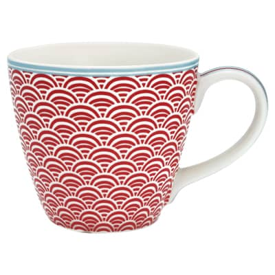 Greengate Mug Henkeltasse Nancy Red