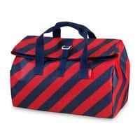 Engelpunt Overnightbag, Weekender, Flip Stripe Navy