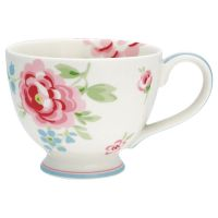 Greengate Teacup Teetasse Meryl White