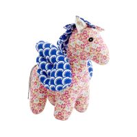 RICE Soft Toy Stoffkuscheltier Pegasus in Mixed Fabrics
