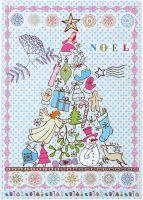 Overbeck and Friends Postkarte Noel