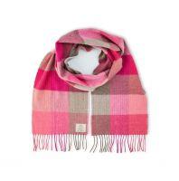AVOCA Nest Merinowolle Schal Pink Field