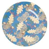 RICE Melamin Teller, Dinner Plate Autumn and Acorns Print