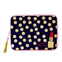 "RICE Tabletttasche/ Ipad Tasche, ""Believe in Red Lipstick"", 12 Zoll"
