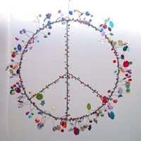 NOI Funkel Peace Zeichen groß