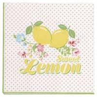 Greengate Papierservietten Limona White Small 20 Stk