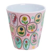 Overbeck and Friends Melamin Becher Flora 1